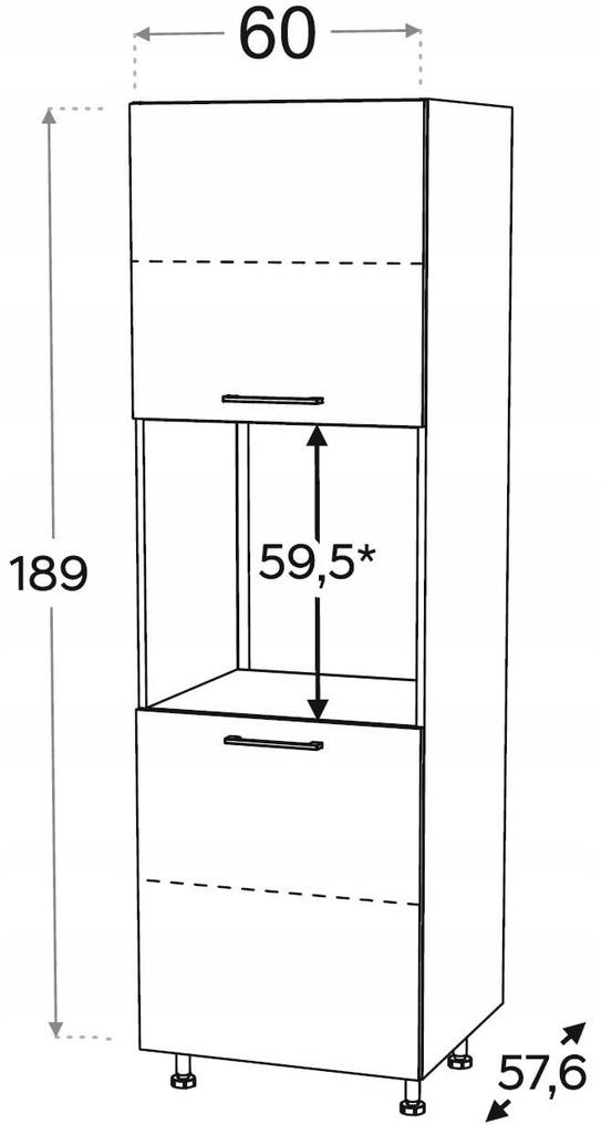 Шкаф для установки духовки KAMMONO P2, K2