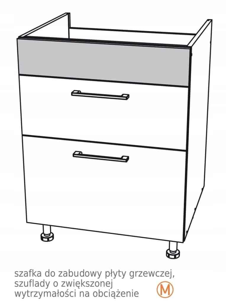 Нижний шкаф 60 см для варочной поверхности Kamduo ML