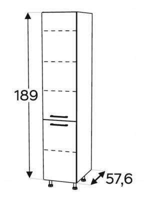 Столб высокий 50 см KAMMONO P4