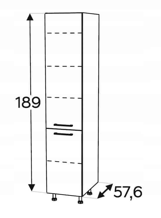 Столб высокий 60 см KAMMONO P4