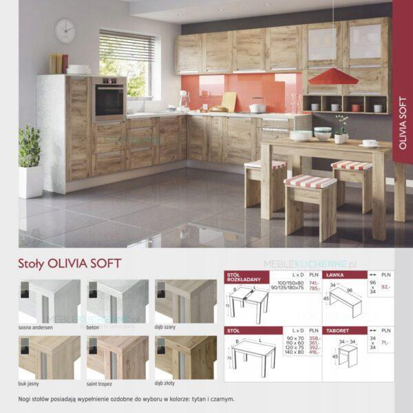 Шкаф комплектация холодильника Olivia Soft Black SL60 дуб