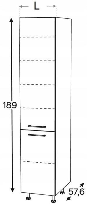 Столб высокий 50 см KAMMONO F4F5F7