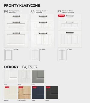 Шкаф для сборки холодильника 60 см KAMMONO F4F5F7