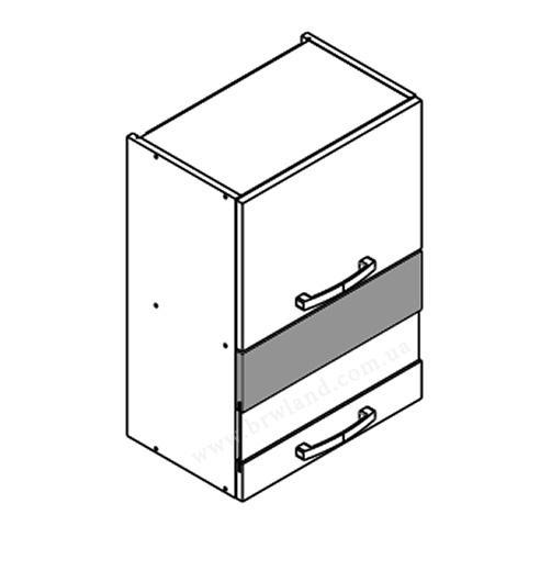 Кухонная витрина навесная WO2W5 KAMDUO XL KAM