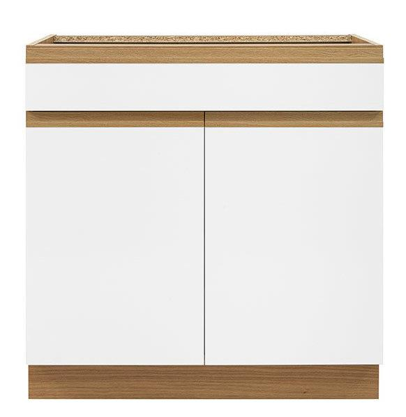 Кухонная тумба D1S-80/82 SEMI LINE BRW