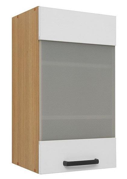 Кухонная витрина навесная G-40/72-LV/PV SEMI LINE BRW