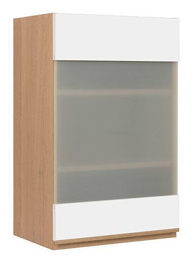 Кухонная витрина навесная G-45/72-LV/PV SEMI LINE BRW
