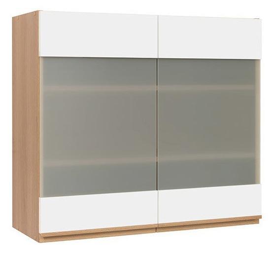 Кухонная витрина навесная G-80/72-LV/PV SEMI LINE BRW