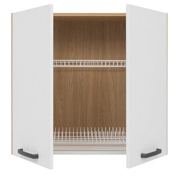 Кухонный шкаф навесной под сушку GC-80/72 SEMI LINE BRW
