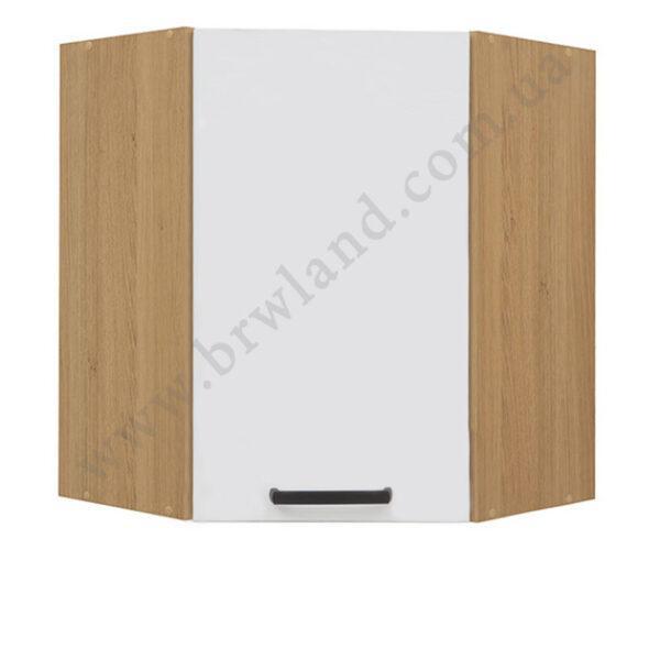 Кухонный шкаф навесной угловой GNWU-60/72 SEMI LINE BRW