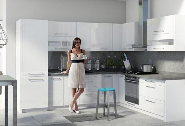 Кухонная витрина навесная CRE-42G CREATIVA FADOME