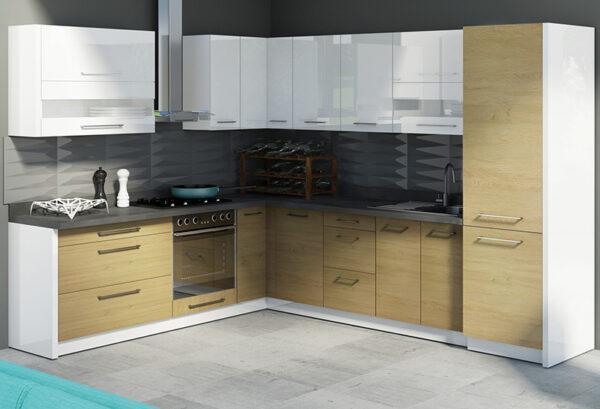 Кухонный шкаф навесной угловой CRE-44G CREATIVA FADOME