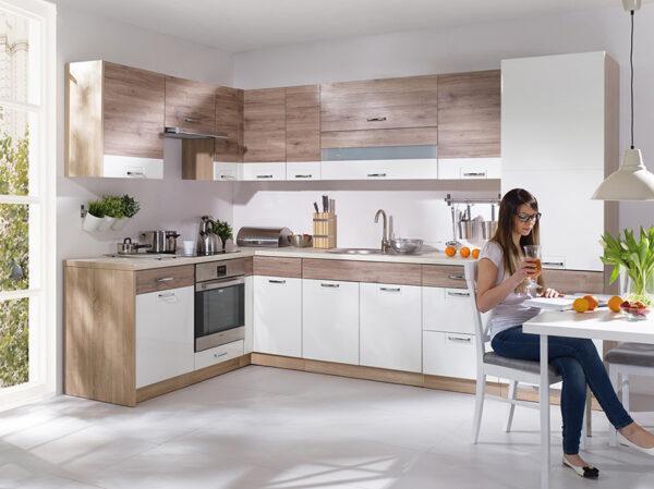 Кухонный шкаф навесной ECO-36G ECONO FADOME