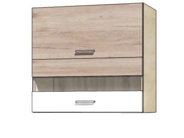 Кухонная витрина навесная ECO-41G ECONO FADOME