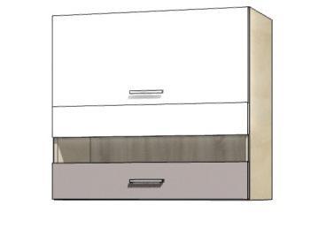 Кухонная витрина навесная GLO-41G GLOBAL FADOME