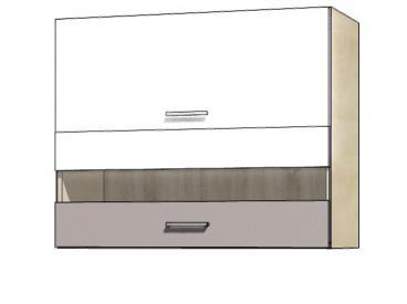 Кухонная витрина навесная GLO-42G GLOBAL FADOME