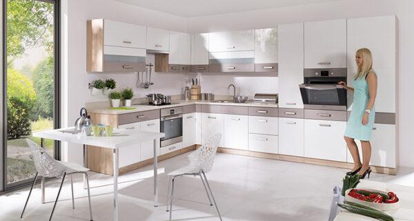Кухонный шкаф навесной угловой GLO-44G GLOBAL FADOME
