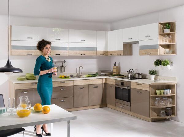 Кухонный шкаф навесной PRE-36G PREMIO FADOME