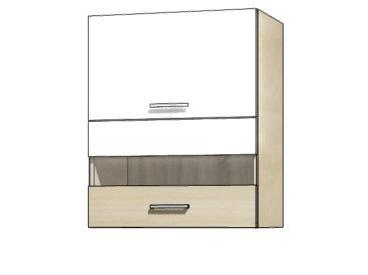 Кухонная витрина навесная PRE-40G PREMIO FADOME