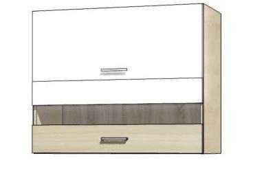 Кухонная витрина навесная PRE-42G PREMIO FADOME