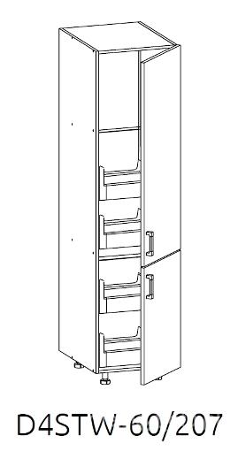 Шкаф D4STW 60/207