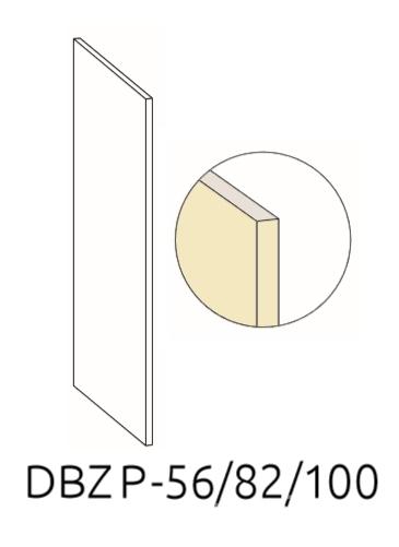 Правый маскирующий экран DBZP 56/82/100