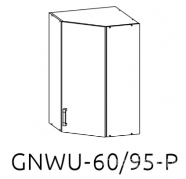 Шкаф GNWU 60/95 LP