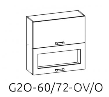 Верхний шкаф G2O 60/72 OV / O