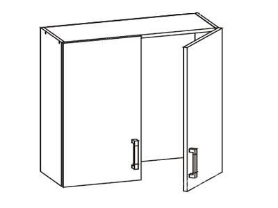 Шкаф с водосливом GC 80/72 L / P
