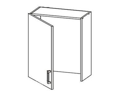 Шкафчик с крылом для сушки GC 60/72 LP