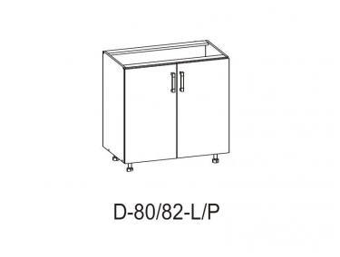 Шкаф D 80/82 L / P