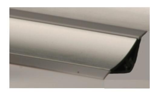 Обивка столешницы Внешний угол 90 градусов Miniwap, Алюминий
