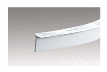 Настольное уплотнение 4,2 м, серебряное уплотнение для столешницы 4,2 м, серебро
