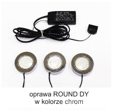 Набор светодиодных сеток 3-точечный Round DY, набор светодиодных сеток холодных цветов 3-точечный Round DY, холодный цвет