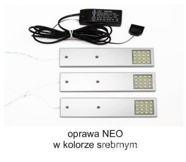 Комплект освещения Uni LED Neo 3 PKT Rectangle Холодный цвет Комплект освещения Uni LED Neo 3 PKT Rectangle Cold color