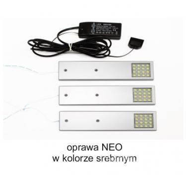 Комплект освещения Uni LED Neo 3 PKT Rectangle Теплый цвет Комплект освещения Uni LED Neo 3 PKT Rectangle Теплый цвет
