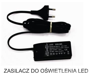 Блок питания для светодиодов мощностью 15Вт Переключатели с делителем 6GN.