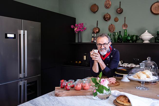 На кухне у Массимо Боттуры
