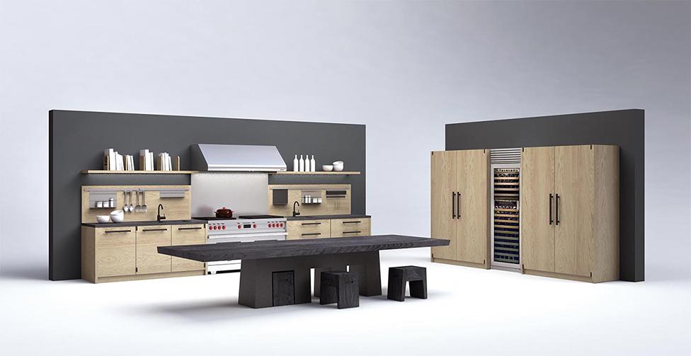 Марк Садлер спроектировал кухню для Riva 1920