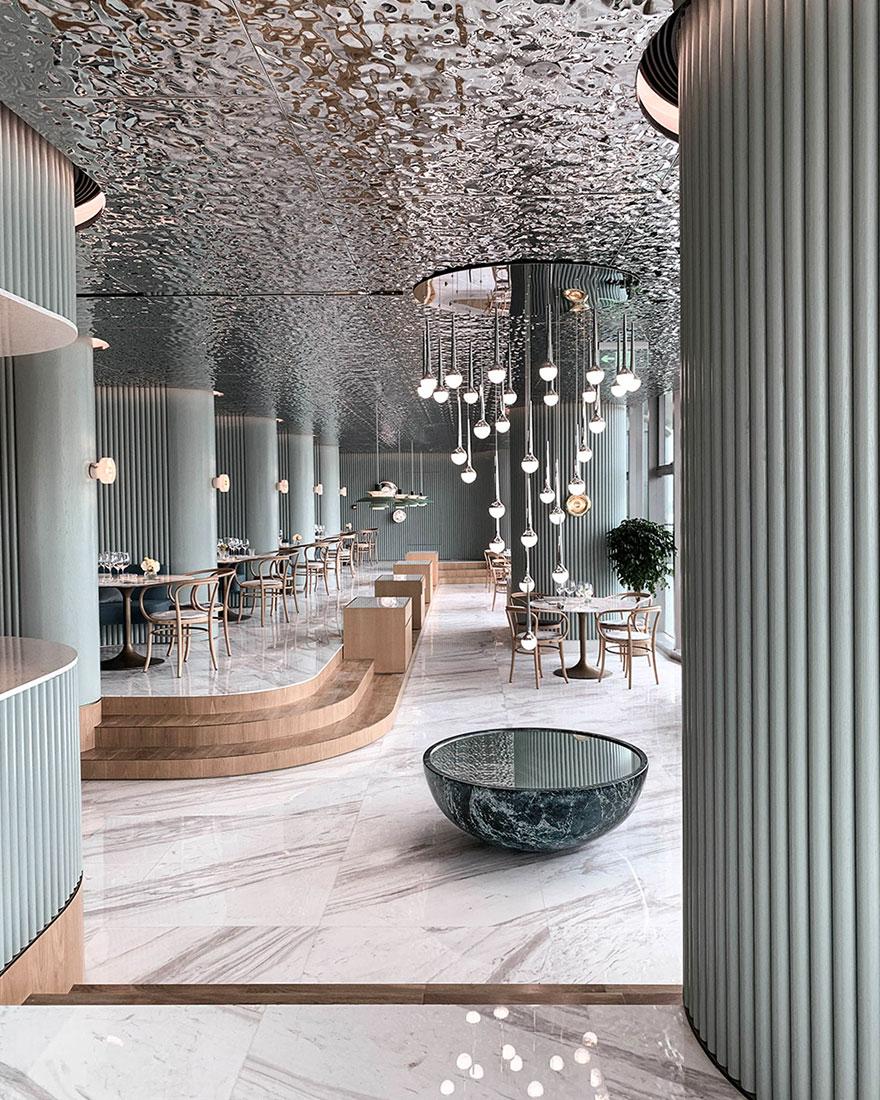 Ресторан в Гуанчжоу по проекту Wuji Studio