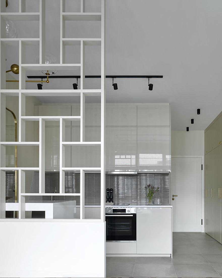 Дизайн квартиры-студии 28 кв. метров