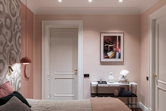 Agnes Rudzite Interiors: «парижская» квартира в центре Риги
