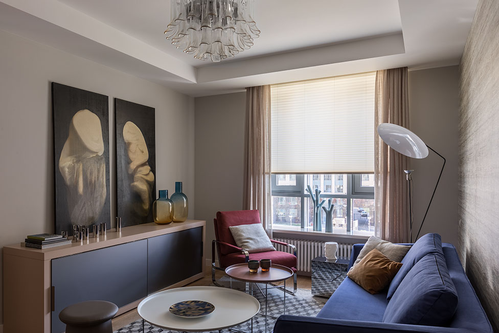 Alla Katanovich Studio: семейная квартира в Петербурге